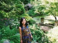 At the Prague botanical garden